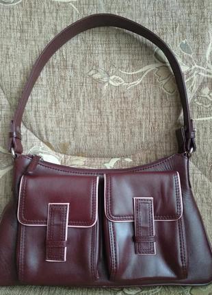 Кожаная сумочка tommy kate