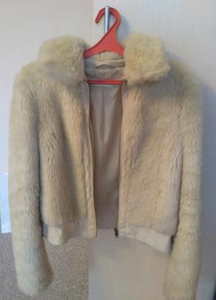 Курточка pimkie из искусственного меха
