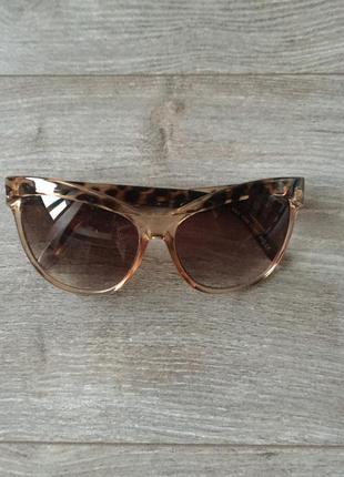 Очки солнцезащитные m&s, ретро, леопардовые, cat eye