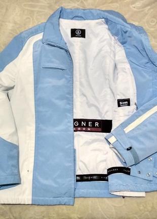 Зимняя bogner sky jacket  куртка, яркая и нежная , куплена в германии
