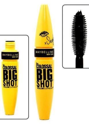 Тушь для ресниц maybelline the colossal big shot