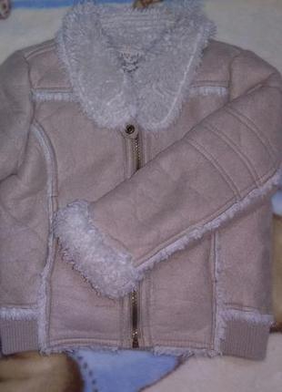 #дублёнка #куртка #курточка #зима #от5до7лет