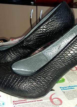 Очень классные туфли из натуральной кожи