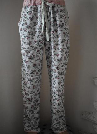 Новые домашние брюки с принтом