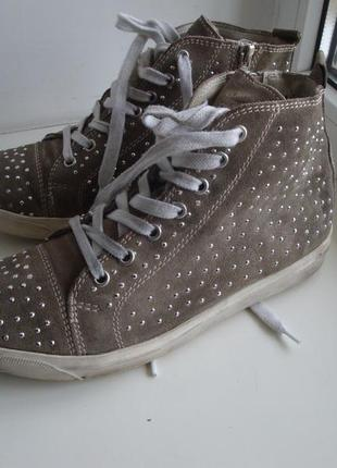 Ботинки замшевые утепленные bama, германия