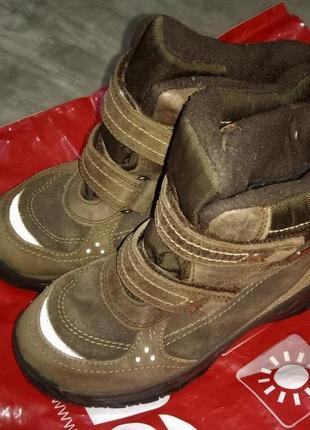 Мембранные теплые зимние термо ботинки reima, р. 33. непромокаемые. внутри шерсть