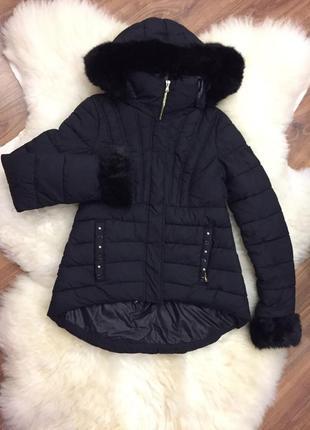 Куртка пуховик короткая guess оригинал