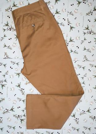 Прямые брюки denim co (оригинал) горчичного цвета, размер 48-50