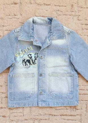 Джинсовый пиджак, gee jay