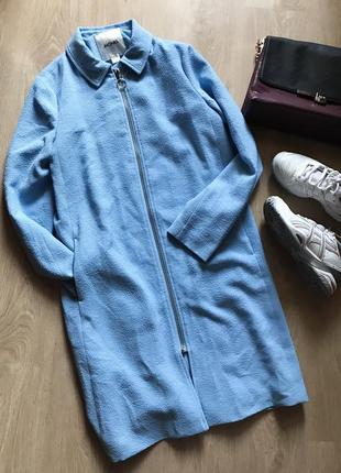 Стильное легкое пальто ,жакет на молнии размер s-m