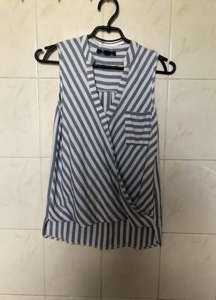 В наличии блуза рубашка в полоску zara