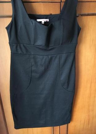 Чёрное платье tally weijl