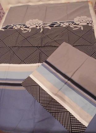 Оригинальный двусторонний комплект постельного белья (германия), хлопок 100%