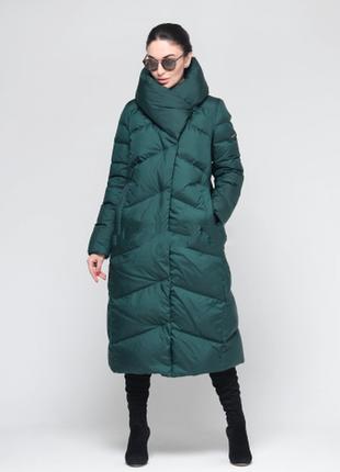 Хит сезона! коллекция зима 2019,зеленый пуховик пальто одеяло clasna m, l, xl, xxl, xxxl