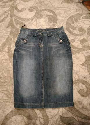 Юбка юбочка джинсовая джинс