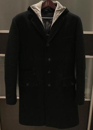 Мужское шерстяное пальто