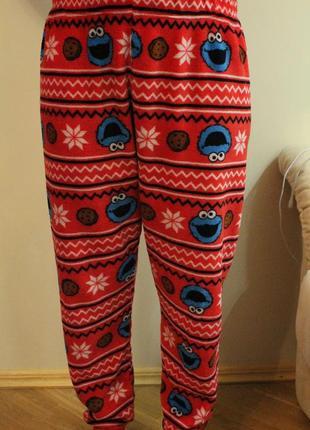 Пижамные штаны, штанишки для дома,пижама размер l, love to lounge