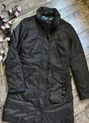 Коричневый пуховик,куртка,парка, пальто от cliver-s-m