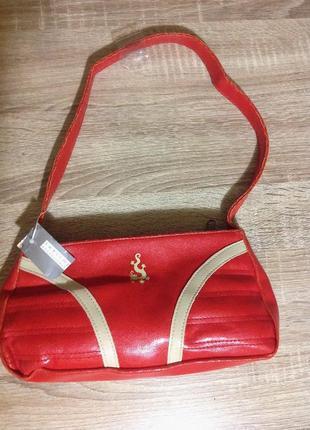 Маленькая дамская сумочка клатч сумка
