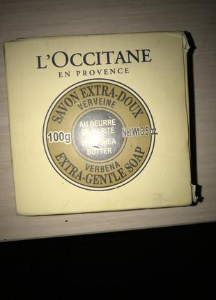 Новое мыло loccitane 100 g