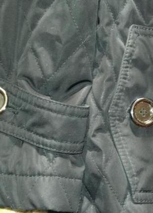 Стеганный тренч пальто плащ в стиле шанель срочно!!!3 фото
