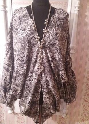 Блуза boohoo p.one size.много вещей больших размеров.