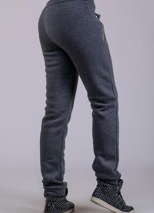 С начесом зимние утепленные штаны, женские, удобные,  р-р 46-52