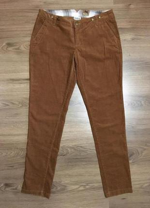 Вельветовые брюки цвета корицы!!