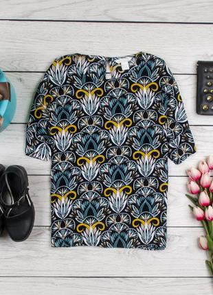 Вискозная блуза от h&m рр 38 наш 44
