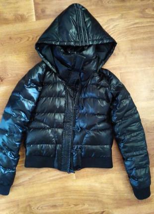 Куртка пуховик adidas, утеплитель утиный пух
