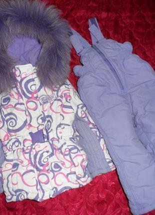 Зимний комбинезон donilo для девочки,86-92,куртка дольше