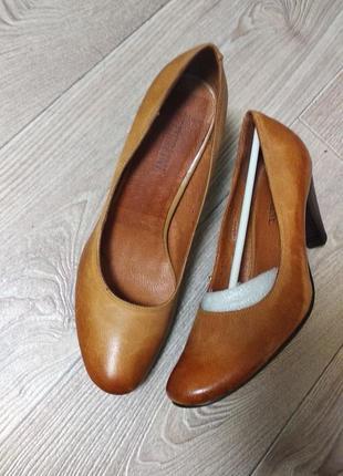 Туфли новые туфельки кожаные натуральная кожа federline