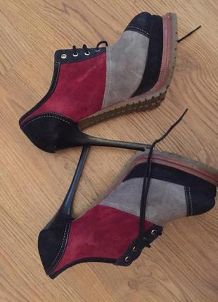 Ботинки италия sasha fabiani
