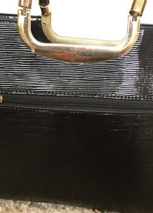 Лакова сумка3 фото