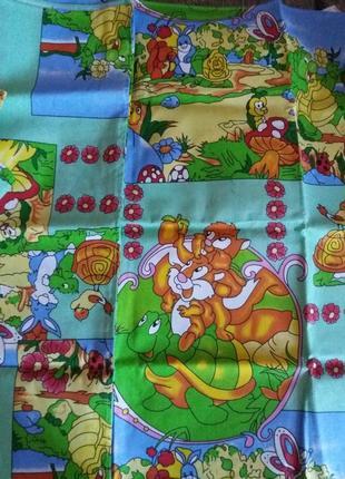 Детское постельное белье комплект в кроватку