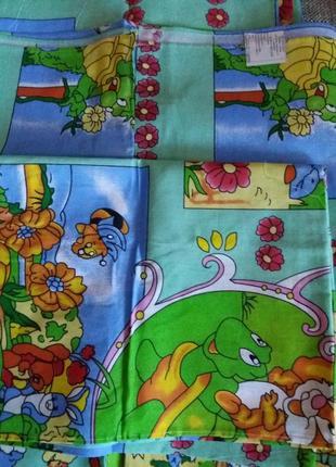 Детское постельное белье комплект в кроватку2