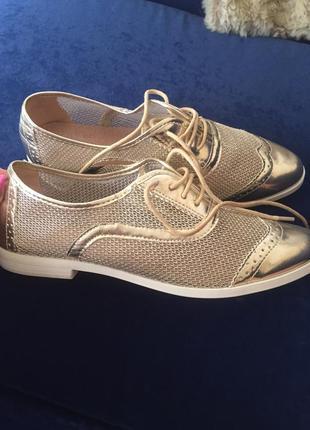 Туфли женские ( броги )