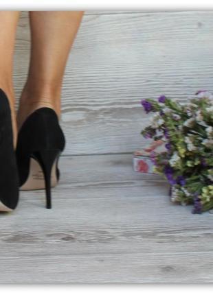 Туфли монблан на шпильке 38 39 40