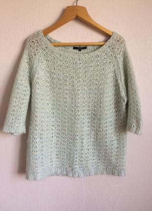 Мятный свитер от reserved