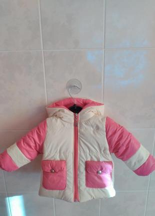 Зимова куртка на ріст 80см