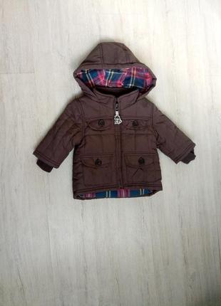 Тепленька курточка 0-3 міс