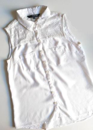 Стильная блуза со вставкой от reserved