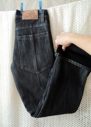 Утепленные джинсы differ w29 l34, турция, зима, на худого мужчину подростка