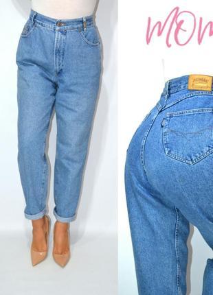 Джинсы  момы бойфренды высокая посадка винтаж   мом mom jeans pioneer.