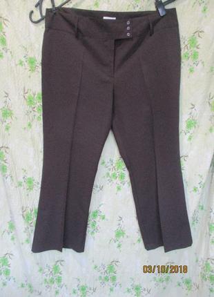 Коричневые брюки большого размера uk 20/52-54