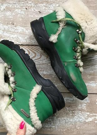 Чоботи боти луноходи ботинки уги валянки  38 - 39 розмір натуральная овчина