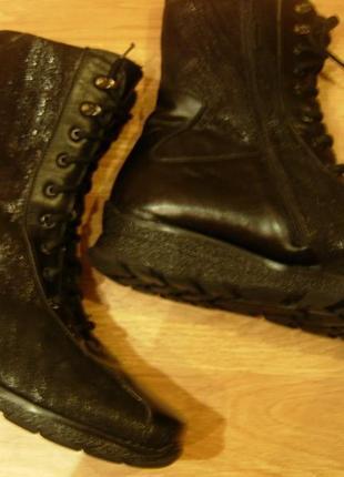Ботинки женские зимние 43 полномерный размер