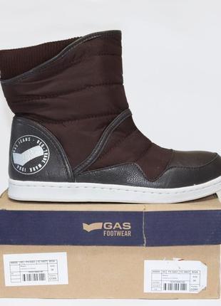 Сапоги дутики gas footwear оригинал. 35-40