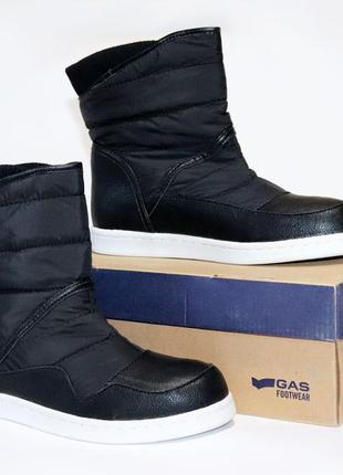 Сапоги дутики gas footwear оригинал. 35-39