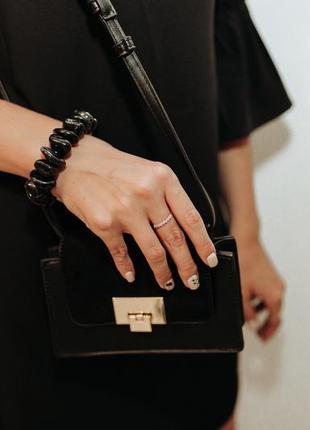 Женская стильная вечерняя сумка zuiki, италия